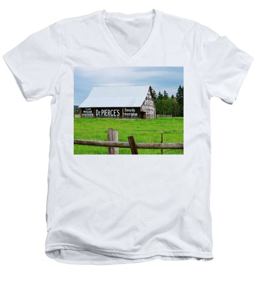 Dr Pierce' Barn 110514.109c1 Men's V-Neck T-Shirt