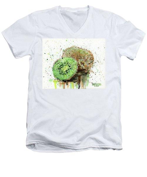 Kiwi 1 Men's V-Neck T-Shirt