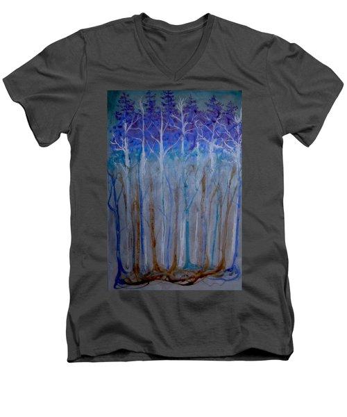 Connected Men's V-Neck T-Shirt