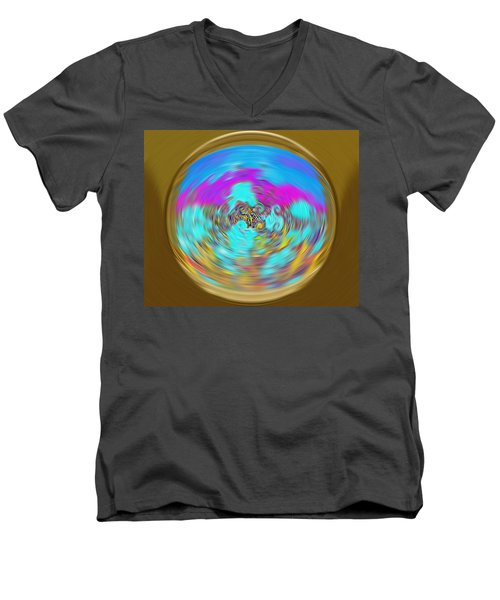 Enchanted View. Unique Art Collection Men's V-Neck T-Shirt