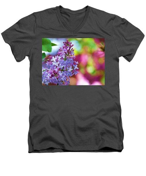 Lilacs 2012 Men's V-Neck T-Shirt