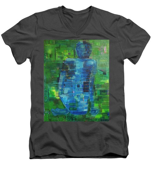 My Matisse Men's V-Neck T-Shirt