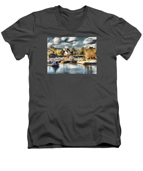 Riverview V Men's V-Neck T-Shirt