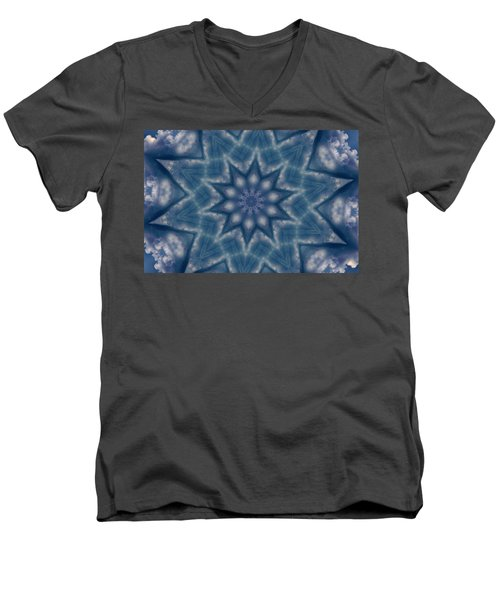 Sky Mandalas 6 Men's V-Neck T-Shirt