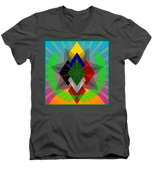 We N' De Ya Ho 2012 Men's V-Neck T-Shirt
