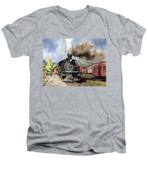 Chama Arrival Men's V-Neck T-Shirt