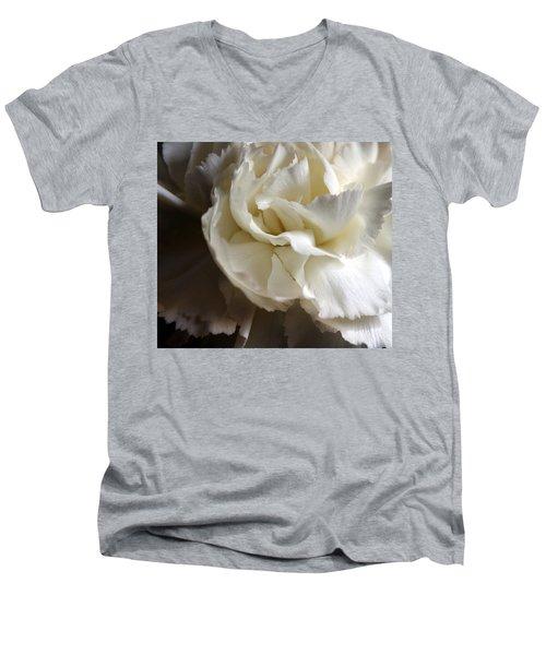 Men's V-Neck T-Shirt featuring the photograph Flower Beauty by Deniece Platt