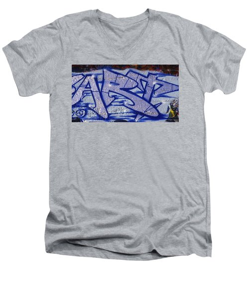 Graffiti Art-art Men's V-Neck T-Shirt