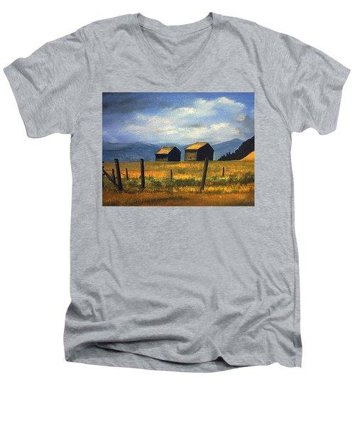 Kila Barns Men's V-Neck T-Shirt
