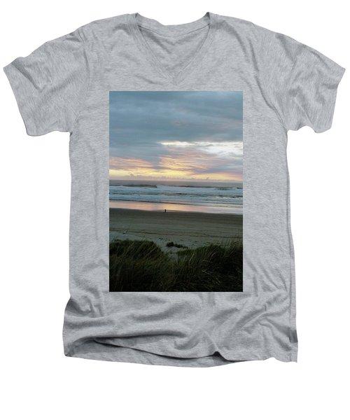 Oregon Coast 1 Men's V-Neck T-Shirt