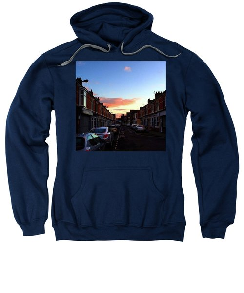 Cartoon Skies Over Middlesbrough Today Sweatshirt