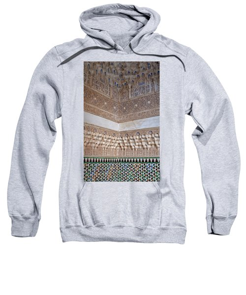 Colorful Carved Corner Sweatshirt