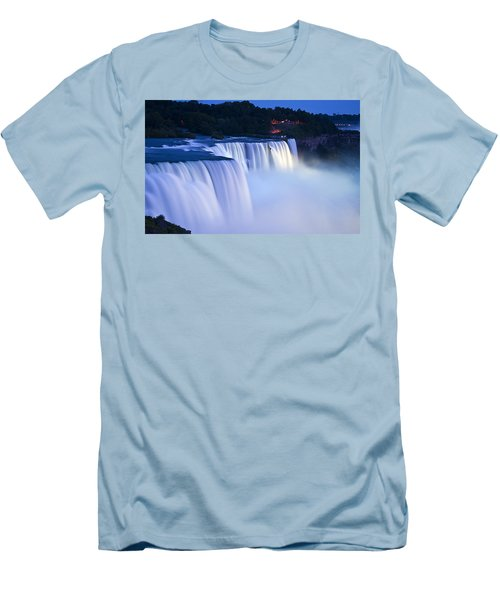 American Falls Niagara Falls Men's T-Shirt (Slim Fit)