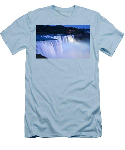 American Falls Niagara Falls Men's T-Shirt (Athletic Fit)
