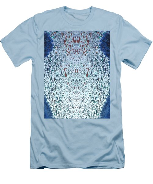 Shattered Vase Men's T-Shirt (Athletic Fit)