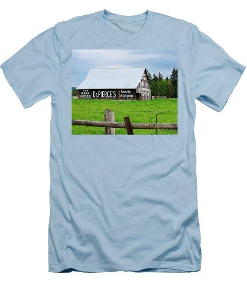 Dr Pierce' Barn 110514.109c1 Men's T-Shirt (Athletic Fit)