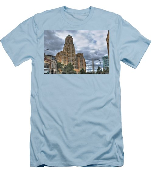 Men's T-Shirt (Slim Fit) featuring the photograph Piercing The Heavens by Michael Frank Jr