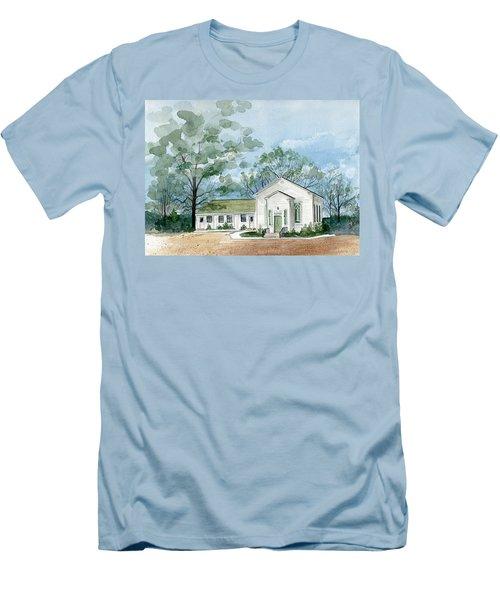 Sicklerville 1859 Church  Men's T-Shirt (Athletic Fit)