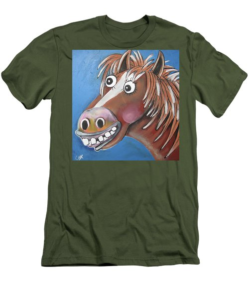 Mr Horse Men's T-Shirt (Athletic Fit)