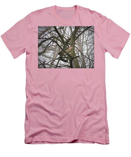 Wood Duck Men's T-Shirt (Slim Fit) by Sue Stefanowicz