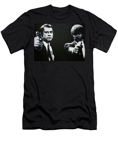 - Pulp Fiction - Men's T-Shirt (Slim Fit) by Luis Ludzska