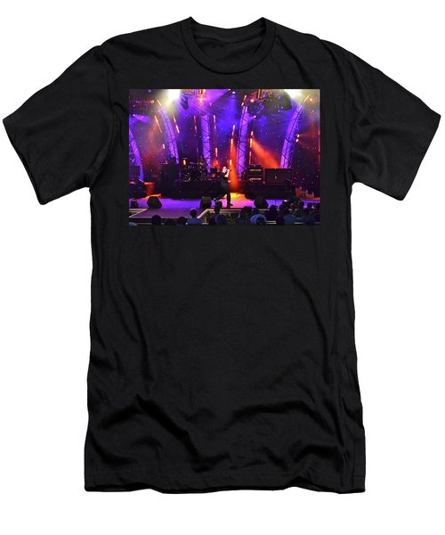 Men's T-Shirt (Slim Fit) featuring the photograph 2u Does U2 by Carol  Bradley