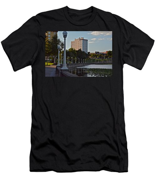 Beautiful Downtown Lakeland Men's T-Shirt (Slim Fit) by Carol  Bradley