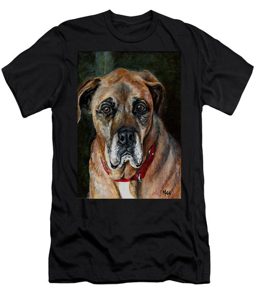 Boo For Dogtown Men's T-Shirt (Slim Fit) by Mary-Lee Sanders