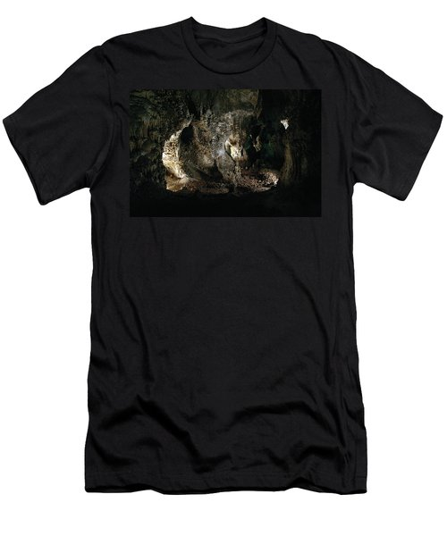 Carlsbad Tunnels Men's T-Shirt (Slim Fit) by Alycia Christine