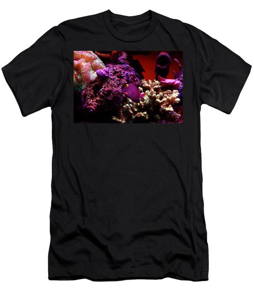 Colors Of Underwater Life Men's T-Shirt (Athletic Fit)