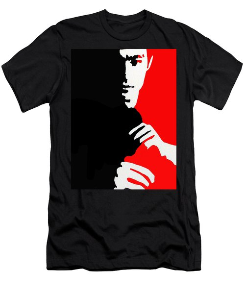Enter The Dragon Men's T-Shirt (Slim Fit) by Robert Margetts