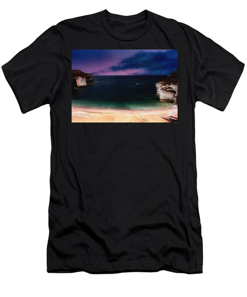 Evening On The Headland  Men's T-Shirt (Athletic Fit)