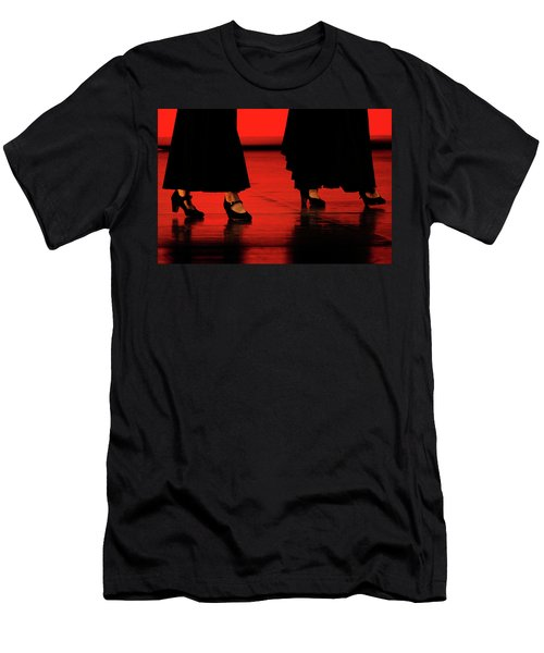 Men's T-Shirt (Slim Fit) featuring the photograph Flamenco 2 by Pedro Cardona