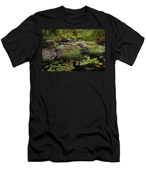 Garden Pond - D001133 Men's T-Shirt (Athletic Fit)