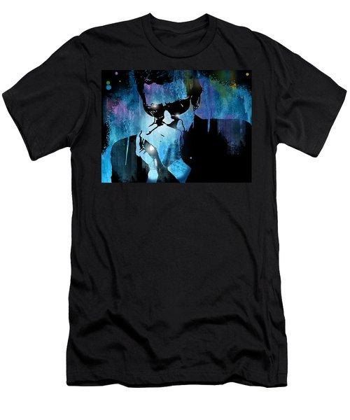 Harmonica Blues Men's T-Shirt (Athletic Fit)