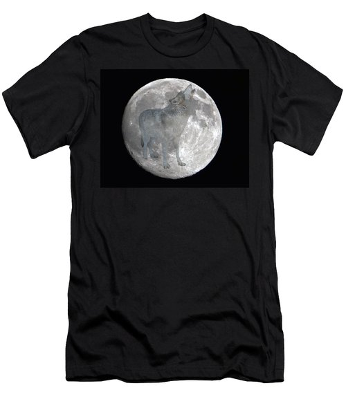 Howl At The Moon Men's T-Shirt (Athletic Fit)