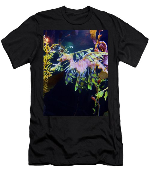 Sea Horse Parade 2 Men's T-Shirt (Athletic Fit)