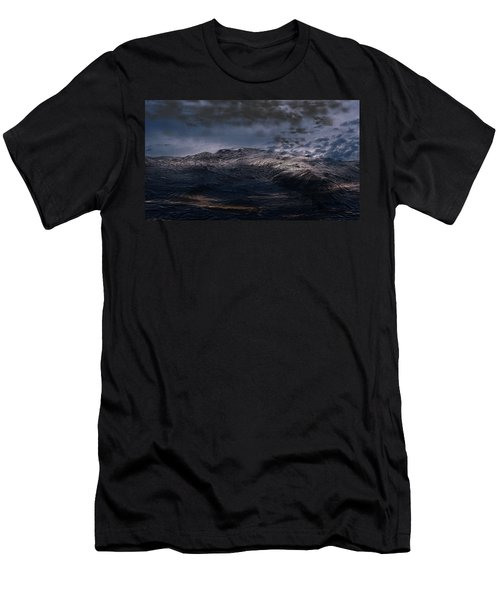 Troubled Waters Men's T-Shirt (Athletic Fit)