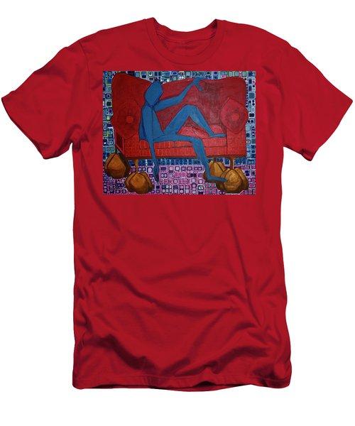 Am I Blue Men's T-Shirt (Athletic Fit)