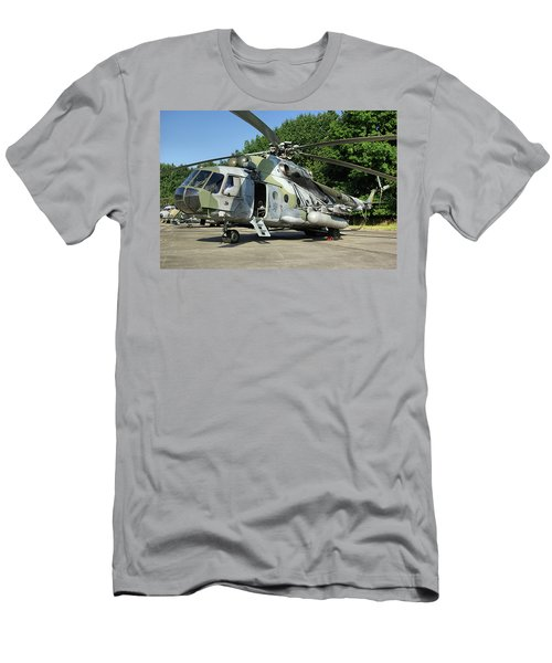 Mil Mi-17 Hip Men's T-Shirt (Slim Fit) by Tim Beach