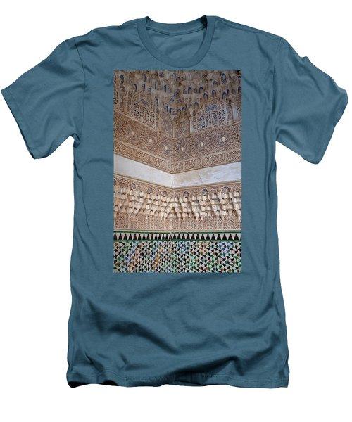 Colorful Carved Corner Men's T-Shirt (Athletic Fit)