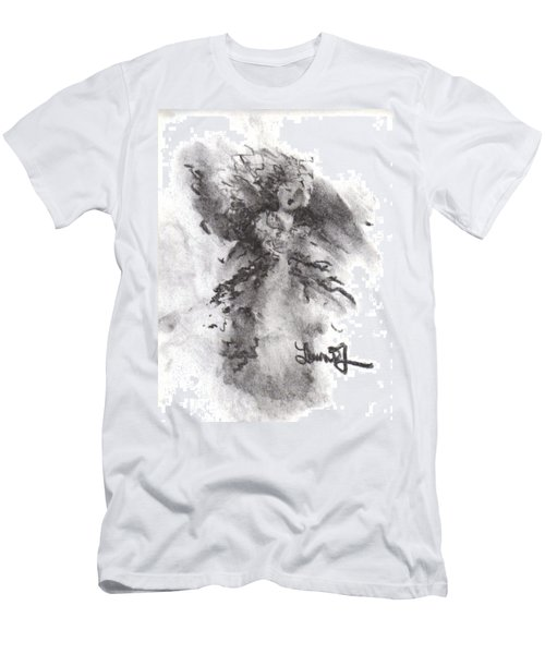 Rapture Of Peace Men's T-Shirt (Slim Fit) by Laurie L