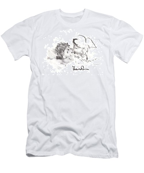 Timeless Love Men's T-Shirt (Slim Fit) by Laurie L