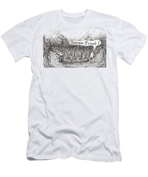 Road More Travelled Men's T-Shirt (Athletic Fit)