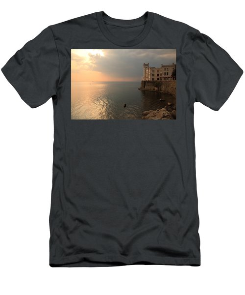 Miramare Sunset Men's T-Shirt (Athletic Fit)