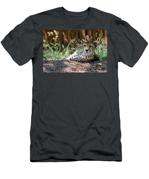 Amber Eyes Men's T-Shirt (Athletic Fit)