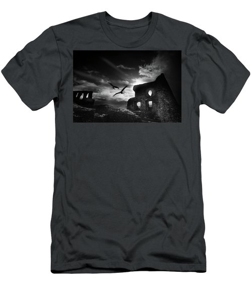 Dryslwyn Castle 3b Men's T-Shirt (Athletic Fit)