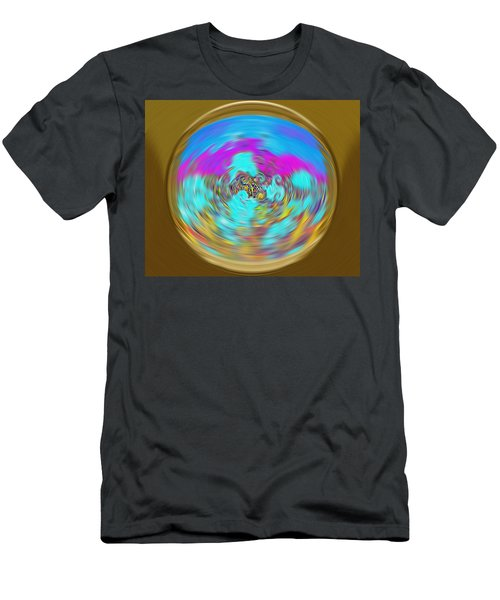 Enchanted View. Unique Art Collection Men's T-Shirt (Athletic Fit)