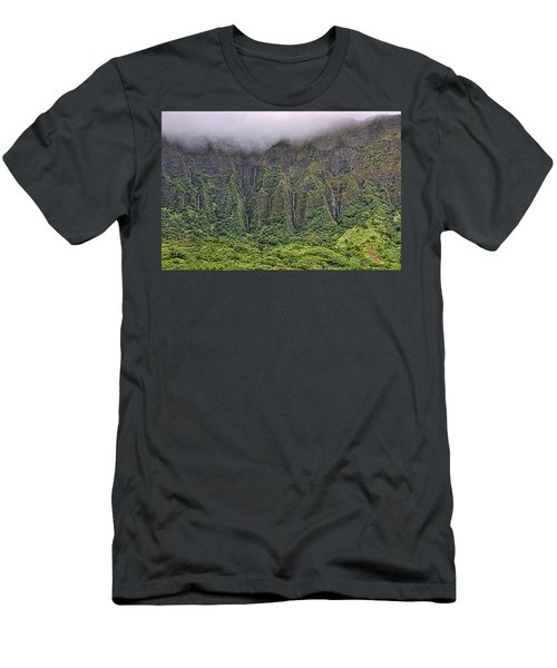Ko'olau Waterfalls Men's T-Shirt (Athletic Fit)