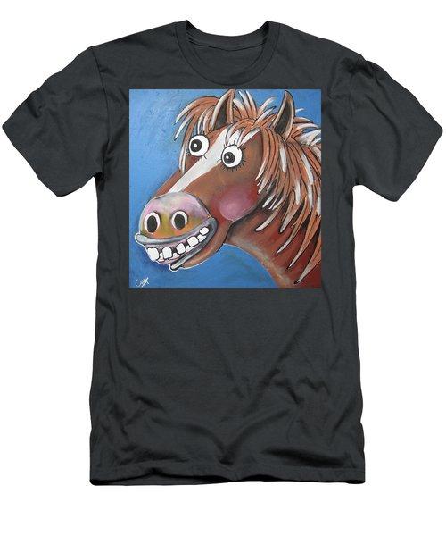 Mr Horse Men's T-Shirt (Athletic Fit)